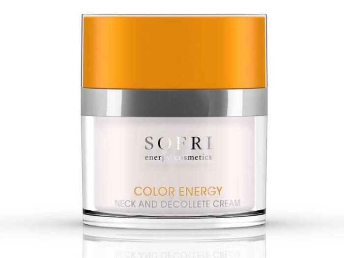 Sofri Krem Do Szyi I Dekoltu Pomarańczowy (Color Energy Neck And Decollete Cream)