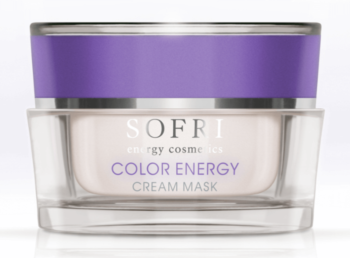 Sofri Maska W Kremie Liliowa (Color Energy Cream Mask)