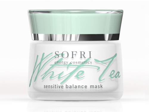 Sofri Maska Do Cery Wrażliwej Z Białej Herbaty (White Tea Sensitive Balance Mask)