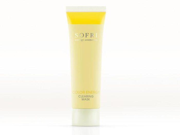Sofri Maska Oczyszczająca Żółta (Color Energy Clearing Mask)