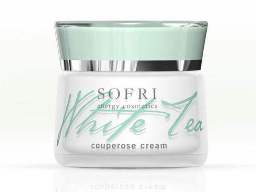Sofri Crem Do Cery Naczynkowej Z Białej Herbaty (White Tea Couperose Cream)